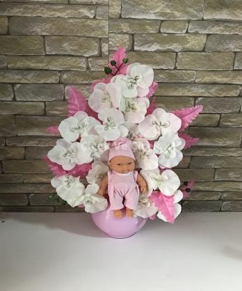 Fanus Kız Bebek Yapay